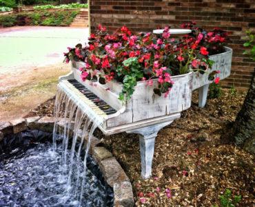 Фонтан в саду: умиротворяющая энергия воды