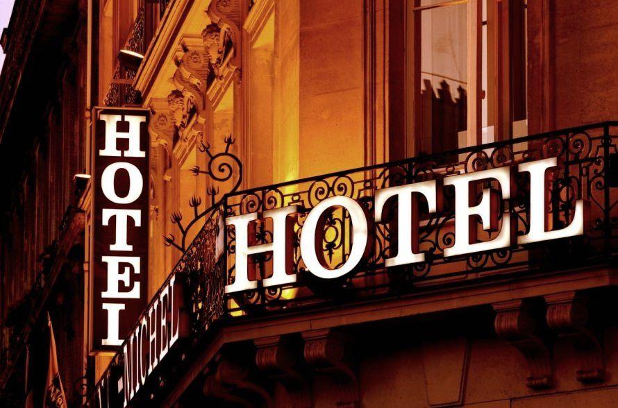 отель, гостиница, отдых, огни